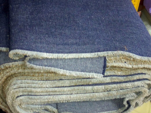 8 metros tecido jeans grosso 100% algodão cia dos tecidos