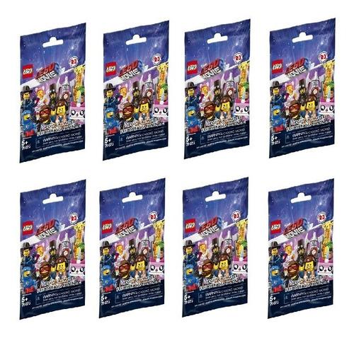 8 minifiguras lego movie 2 - lego original