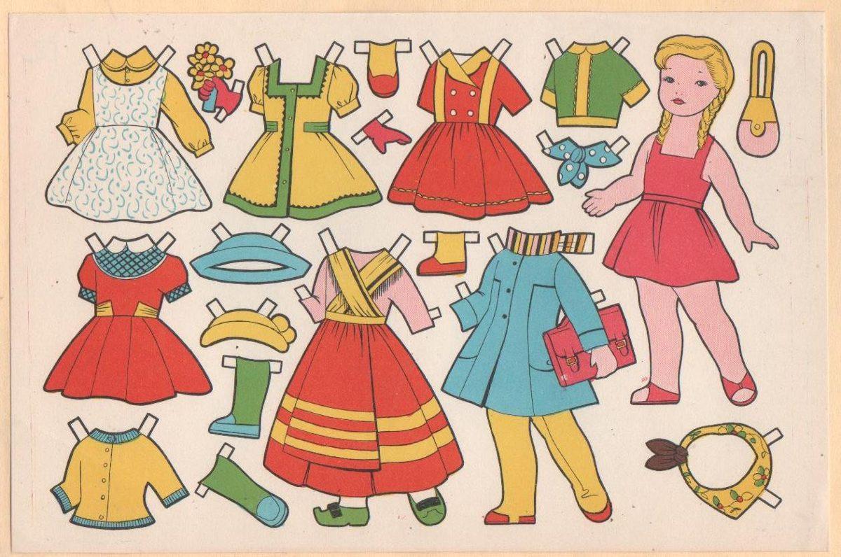 8 Muñecas Vestir Recortable Papel No Figurita Brillantina 40000