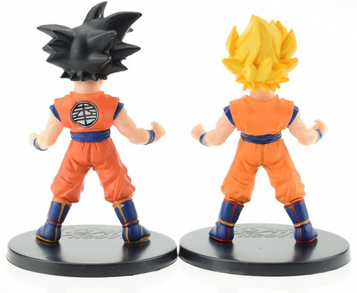 8 munecos de colleccion dragon ball z 100% originales
