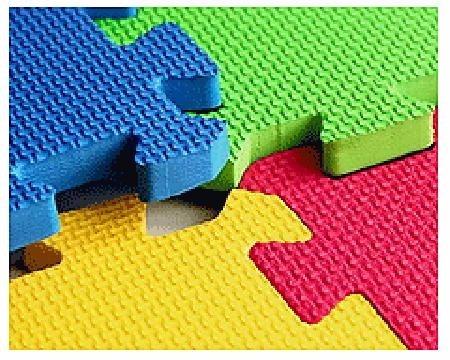 8 pack piso alfombra goma eva de 10 cuadros cada uno 30x30 en mercado libre - Alfombra de goma para piso ...