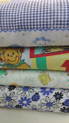 8 pañales de tela bebe 53*33 cm