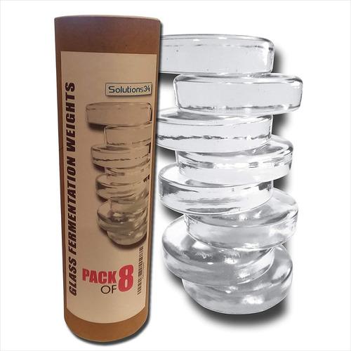 (8 paquete ) prima vidrio de fermentación pesos para grande