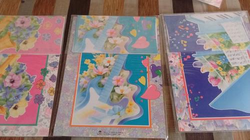 8 paquetes de papeles cartas