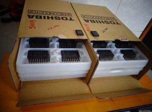 8 pares transistor 2sc5200 / 2sa1943 toshiba original