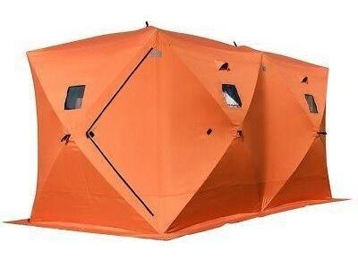 8 personas impermeabilizan refugio emergente hielo pesc-0669