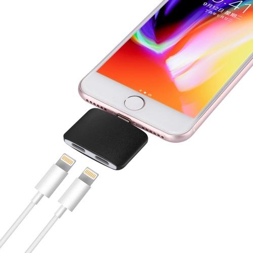8 Pin Adaptador Dual Audio Hembra Para Iphone Plus 7 6 6s
