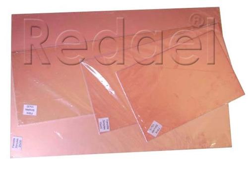 8 placas de fenolite simples 30x30