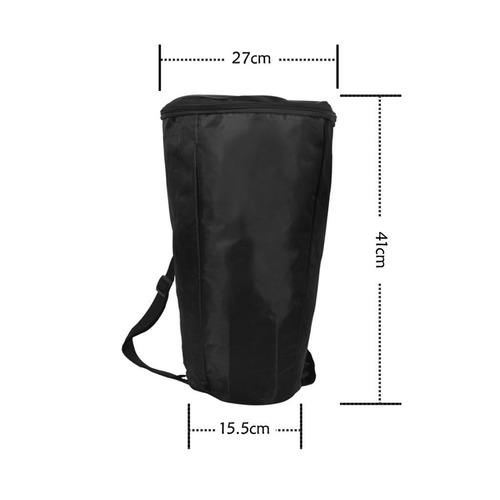 8 pulgadas djembe african drum shoulder llevar almacenamient