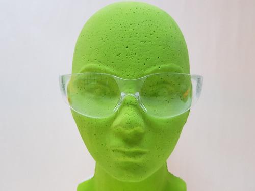 8 pzas lentes gafas trans seguridad uv 99% ligeros interior