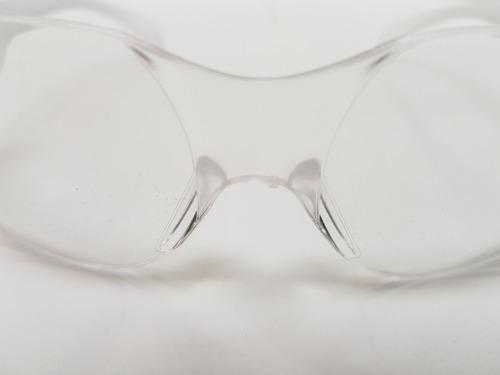 8 pzas lentes trans seguridad ligeros interior policarbonat