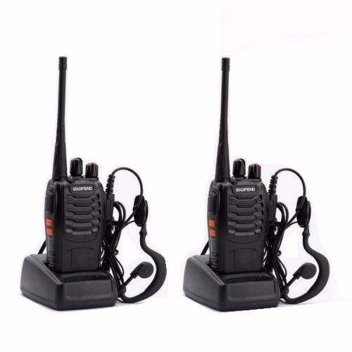 8 radio comunicador ht walk talk talkabout baofeng bf-888s