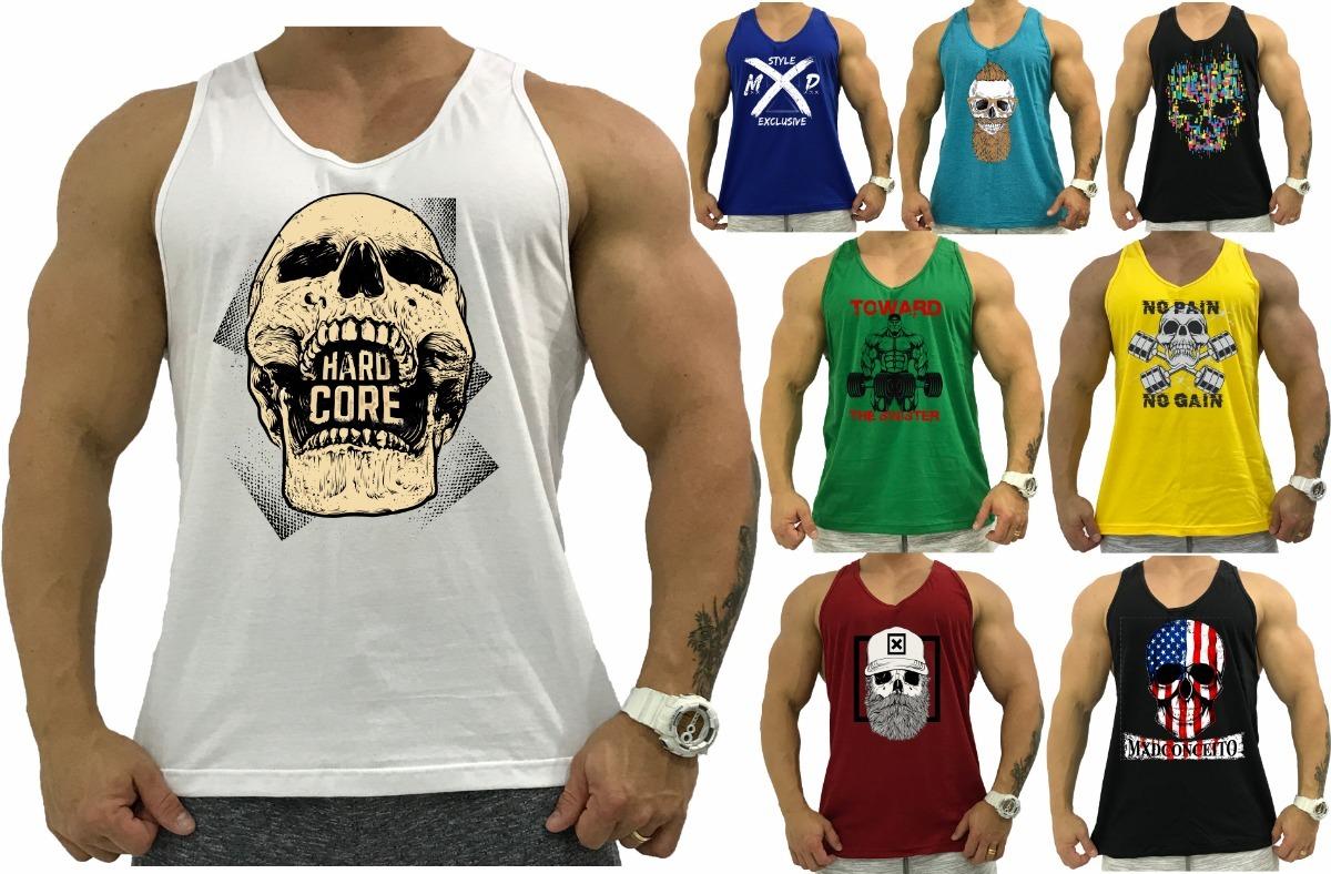 8 regata masculina cavada academia tank camiseta anatomic. Carregando zoom. 416af52d0ad