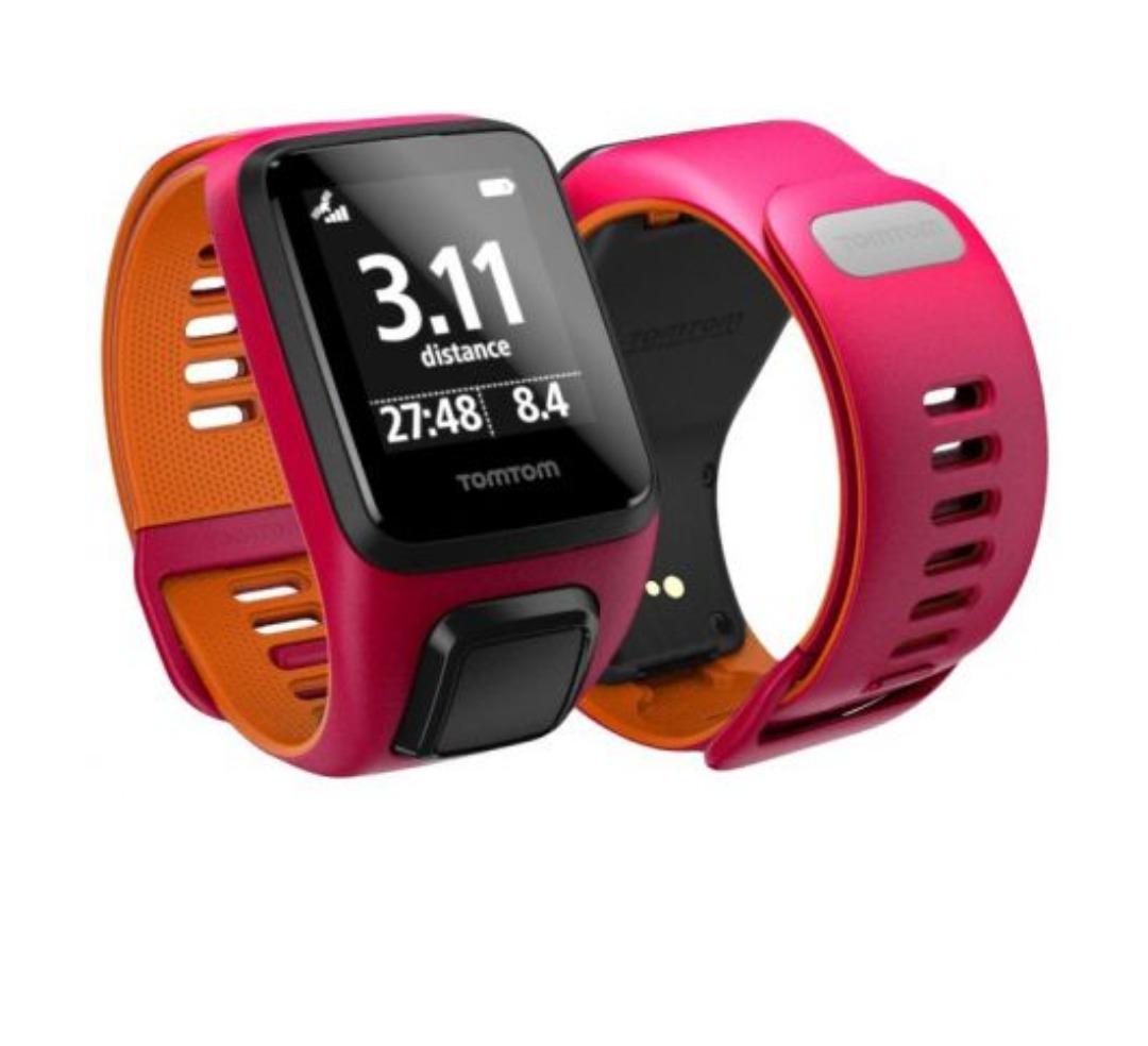 84c2d512854 8 relógio tomtom runner 3 gps fitness multi-sport small rosa. Carregando  zoom.
