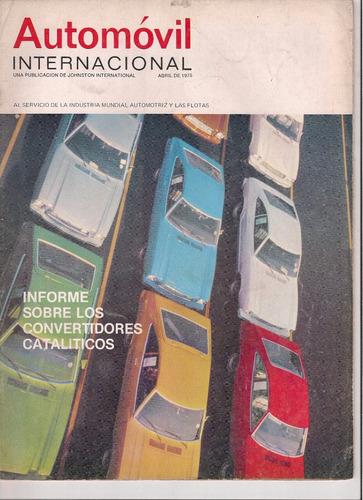 8 revistas automovil internacional