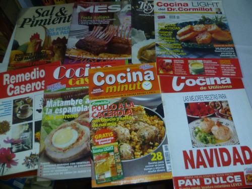 8 revistas de cocina