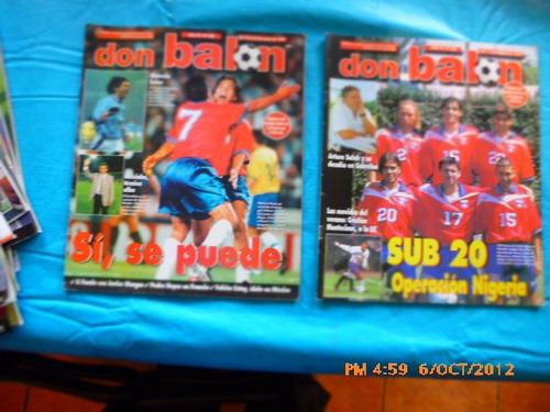 8 revistas don balon entre 322-350 universidad de chile(271