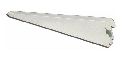 8 riel 1.50 mts + 30 ménsula reforzada 37 cm blanca 0219