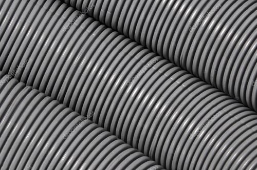 8 rollo caño corrugado 7/8  gris ignífugo