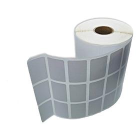 8 Rolos Etiqueta 33x22 3 Colunas Couche Para Impressoras Argox Bematech Elgin Zebra Intermec Sato - Rolos Com 32 Metros