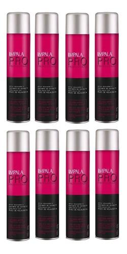 8 sprays secante para unhas impala 400ml com oleo malaleuca