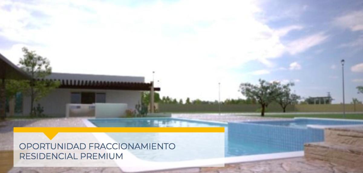 8 terrenos residenciales en fracc. residencial (nb-)