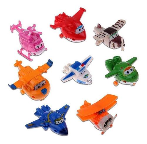 8 unidades super wings, mini aviones