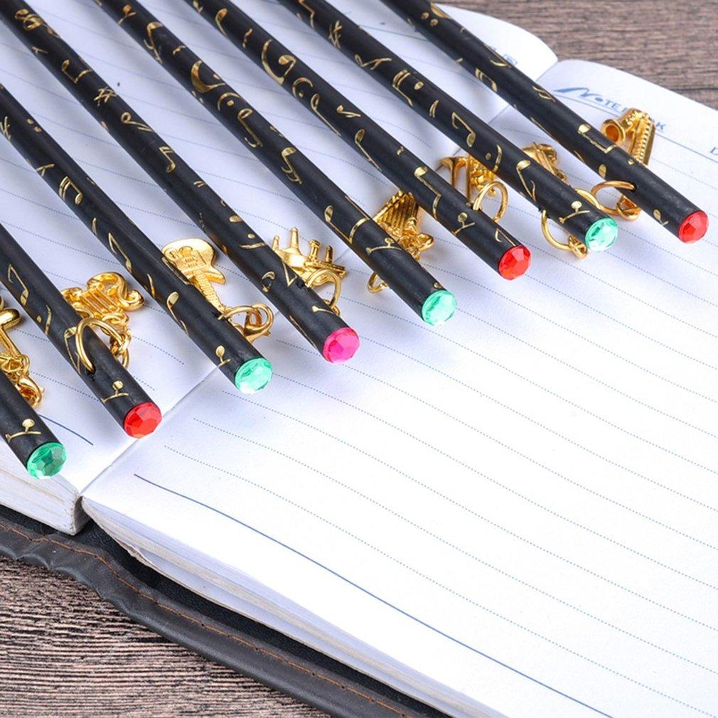 8 Unids Nota Musical Lápiz Colgante Set Escritura Dibujo