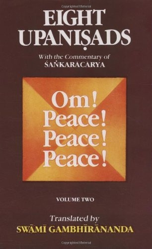 8 upanishads with the commentary of sankara, vol i & il yoga