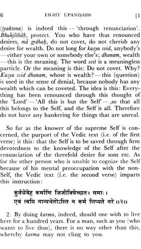 8 upanishads with the commentary of sankara, vol i & il yoga