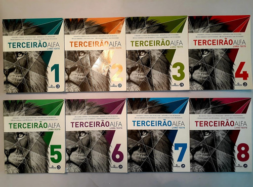 8 volumes (1ao8) dos livro-texto +  6 volumes 1,2,3,6,7,8