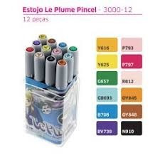 8 x tons basico caneta pincel brush marvy uchida le plume