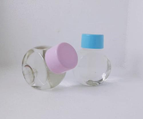 80 baleiro de plastico pvc 50ml - lembrancinhas de batizado