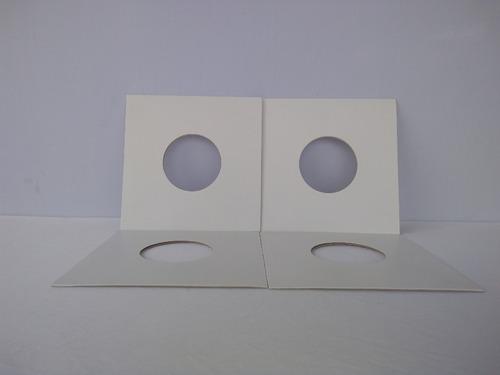80 capas compactos7  + plasticos exter. disco vinil saco