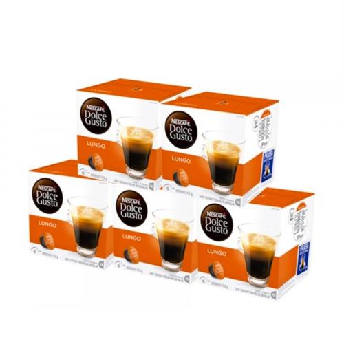80 capsulas cafetera nescafe dolce gusto lungo