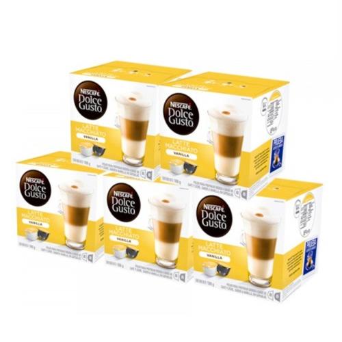 80 capsulas cafetera nescafe dolce gusto macchiato vainilla