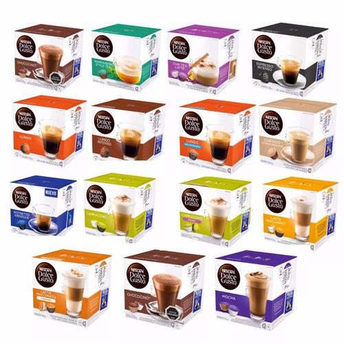 80 cápsulas nescafe dolce gusto a elección envio gratis