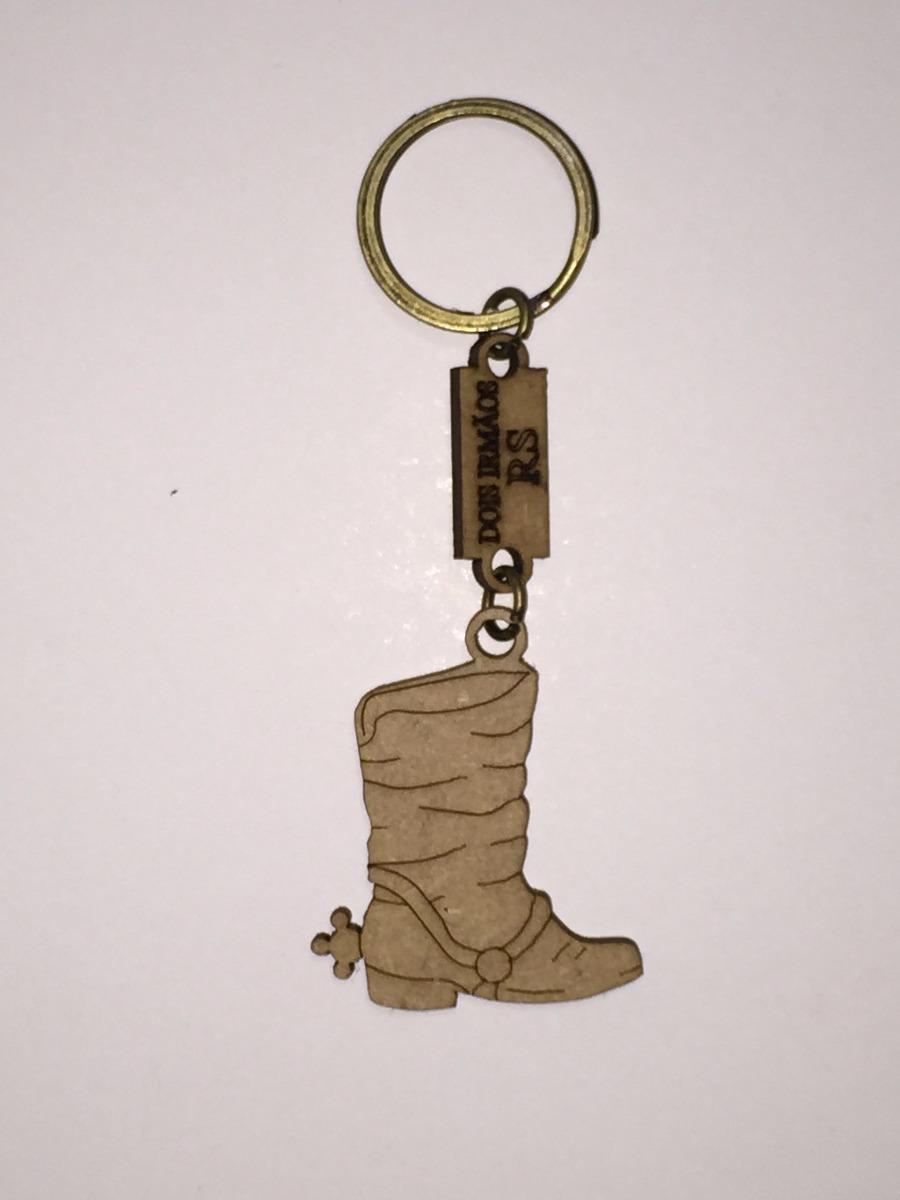 9d295b821fc23 80 Chaveiros Mdf Brinde Lembrancinha Festa Bota De Cowboy - R  79