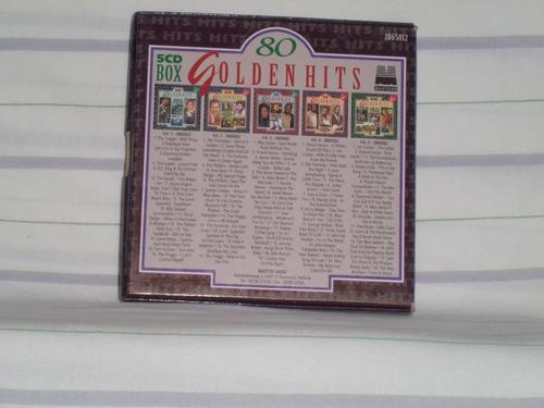 80 golden hits (5 cd's) - excelente selección de chatarritas