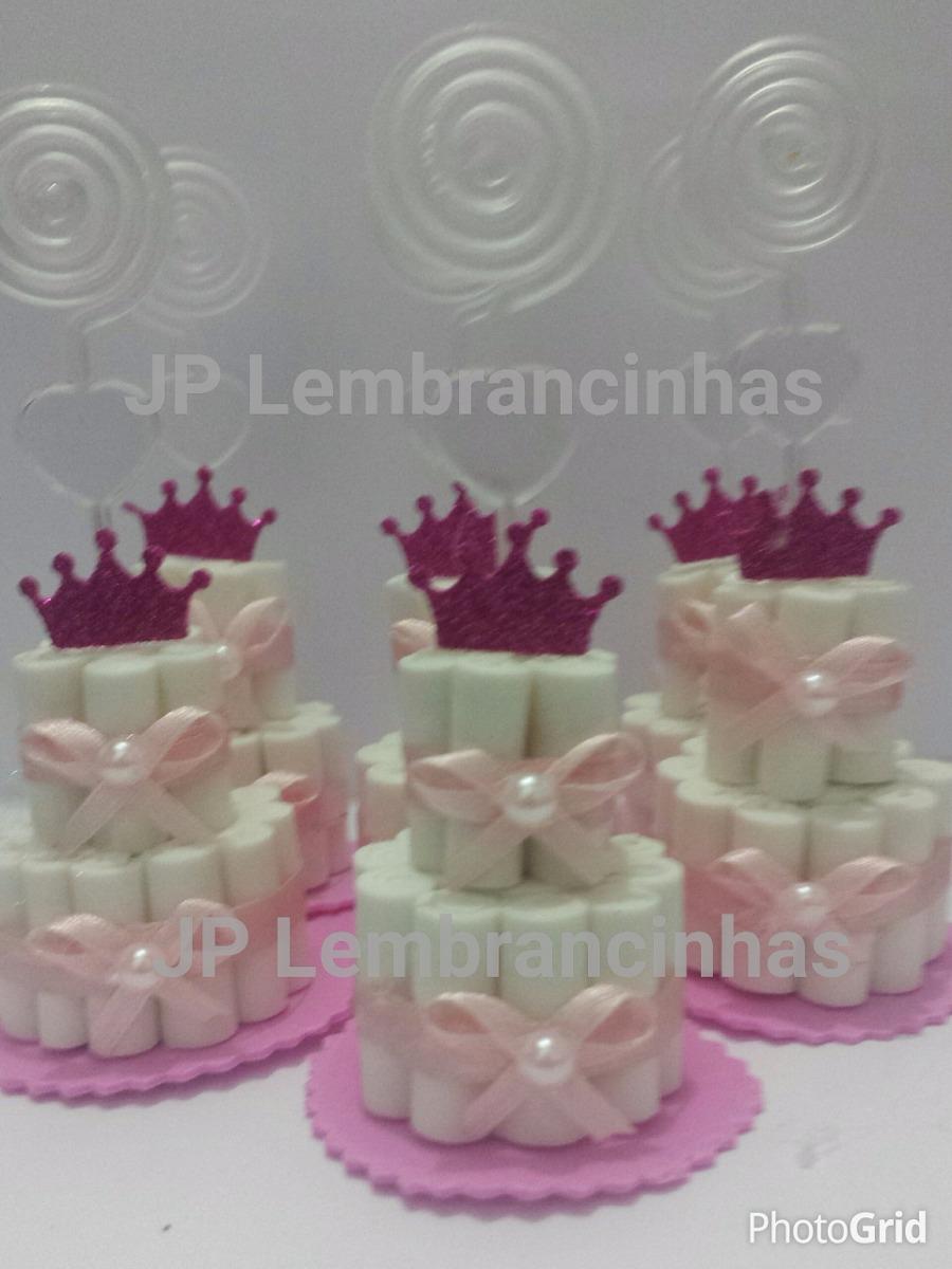 80 Mini Bolo De Fraldas Lembrancinha Chá De Bebematernidade