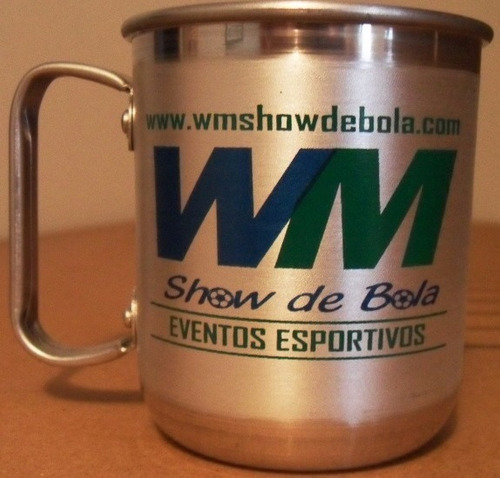 80 mini caneca em aluminio personalizada 300 ml