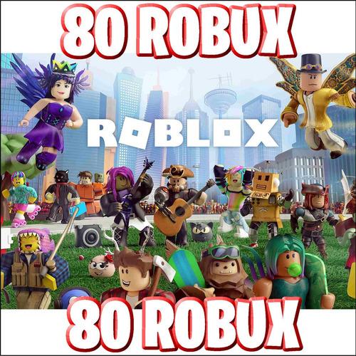 80 robux - roblox @ entrega inmediata