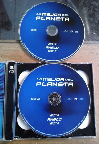80 s anglo 90 s lo mejor del planeta cd doble 1999