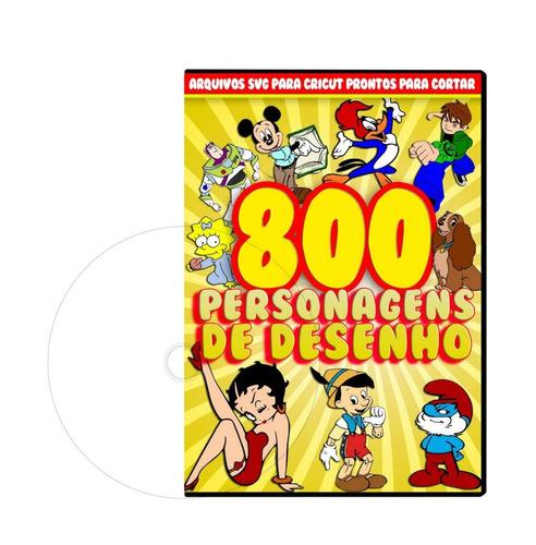 800 arquivos em svg para cricut / silhouette