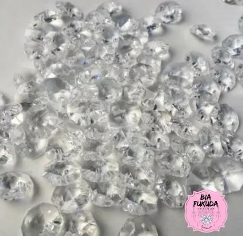 800 castanhas cristal acrílico 16mm para lustre de cristal