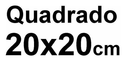 800 folhas papel manteiga 20x20 cristal granapel glasspel
