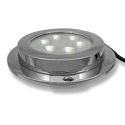 800 luz led lámpara subacuática marina embarcación de yat