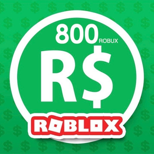 800 robux de roblox para mejorar tu avatar y posibilidades.