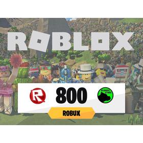 800 Robux Roblox @ Todos Los Días On @ Mercadolider