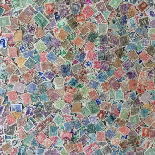 800 selos do brasil n / u - só antigos